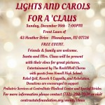 Social Media - Lights and Carols for a 'Claus (1)